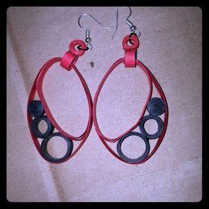 Handmade Paper Earings